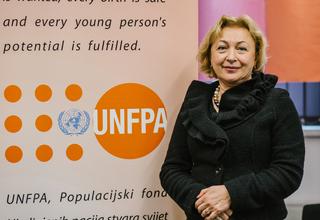 Dr.Doina Bologa, UNFPA Representative for Bosnia and Herzegovina