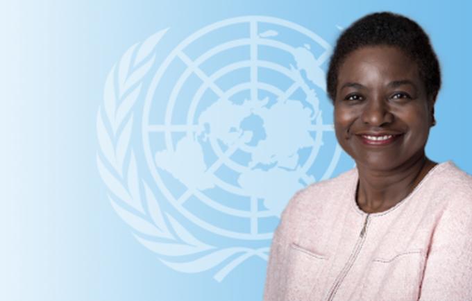 UNFPA Executive Director Dr. Natalia Kanem