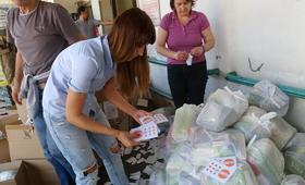 Flood aid for Bosnia