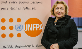 Dr.Doina Bologa, UNFPA Representative for Bosnia and Herzegovina